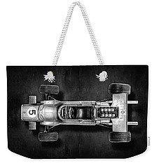 Weekender Tote Bag featuring the photograph Schuco Matra Ford Top Bw by YoPedro