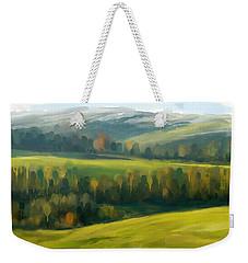 Rich Landscape Weekender Tote Bag