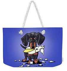 Dapple Doxie Destroyer Weekender Tote Bag
