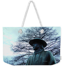 Austin Hike And Bike Trail - Iconic Austin Statue Stevie Ray Vaughn - Two Weekender Tote Bag