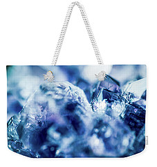 Weekender Tote Bag featuring the photograph Amethyst Blue by Sharon Mau