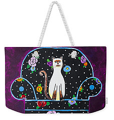 Cats Just Wanna Have Fun Weekender Tote Bag