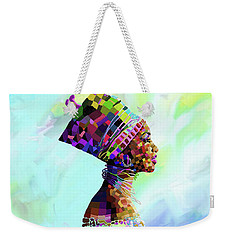 Queen Nefertiti Weekender Tote Bag