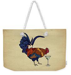 Cocktails Weekender Tote Bag by Meg Shearer