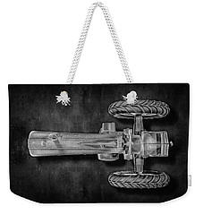 Weekender Tote Bag featuring the photograph John Deere Top Bw by YoPedro