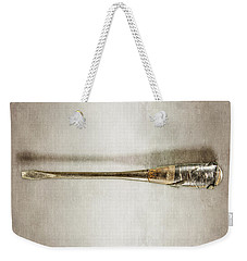 Weekender Tote Bag featuring the photograph Screwdriver With Tape Handle by YoPedro