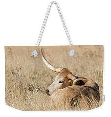 Prairie Longhorn Weekender Tote Bag