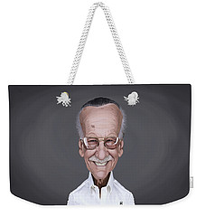 Celebrity Sunday - Stan Lee Weekender Tote Bag