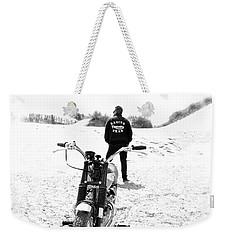 Motorcycle Racing Team Weekender Tote Bag by Mark Rogan