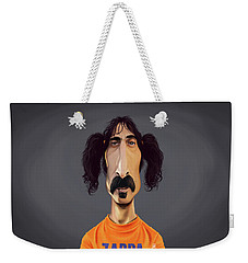 Celebrity Sunday - Frank Zappa Weekender Tote Bag