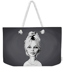 Celebrity Sunday - Brigitte Bardot Weekender Tote Bag