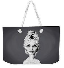 Celebrity Sunday - Brigitte Bardot Weekender Tote Bag
