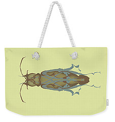 Cockroach Specimen Weekender Tote Bag
