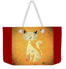 Artistic Pussycat Weekender Tote Bag
