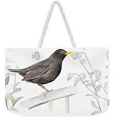 Ms. Blackbird Is Brown Weekender Tote Bag