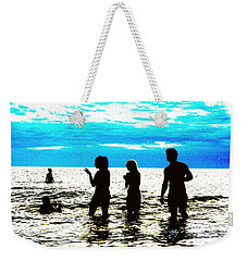 Hot Night At The Beach Weekender Tote Bag