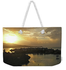 Jamaica Sunset Bay Weekender Tote Bag