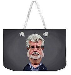 Celebrity Sunday - George Lucas Weekender Tote Bag