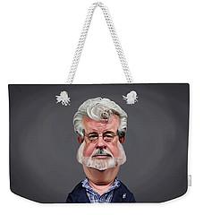 Celebrity Sunday - George Lucas Weekender Tote Bag
