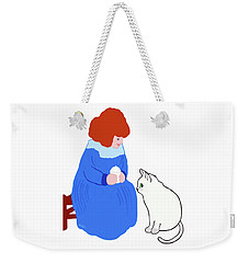Pussycat, Pussycat By Mother Goose Weekender Tote Bag