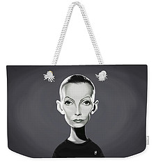 Celebrity Sunday - Greta Garbo Weekender Tote Bag