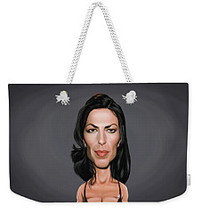 Celebrity Sunday - Claudia Black Weekender Tote Bag