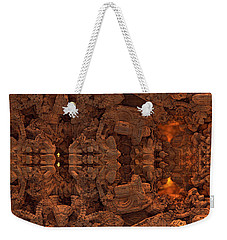 Wood Carving Weekender Tote Bag
