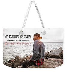 Courage Weekender Tote Bag
