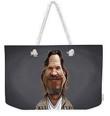 Celebrity Sunday - Jeff Bridges Weekender Tote Bag