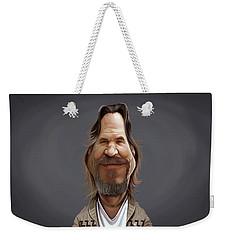 Celebrity Sunday - Jeff Bridges Weekender Tote Bag
