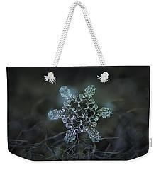 Real Snowflake - Slight Asymmetry New Weekender Tote Bag