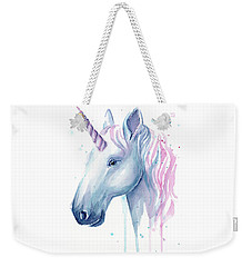 Cotton Candy Unicorn Weekender Tote Bag