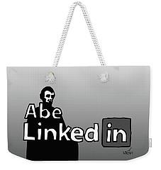 Abe Linkedin Weekender Tote Bag