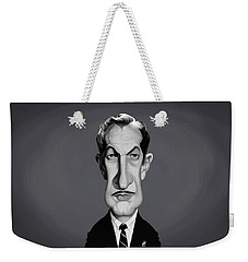 Celebrity Sunday - Vincent Price Weekender Tote Bag