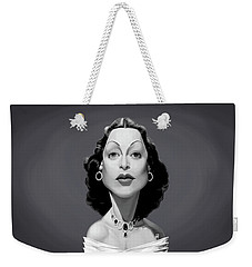 Celebrity Sunday - Hedy Lamarr Weekender Tote Bag