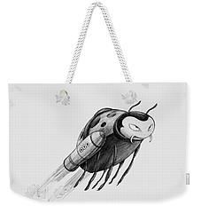 Lady Rocket Bug Weekender Tote Bag
