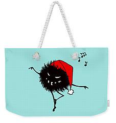 Singing And Dancing Evil Christmas Bug Weekender Tote Bag