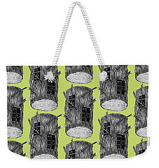 Tree Log With Mysterious Forest Creatures Weekender Tote Bag
