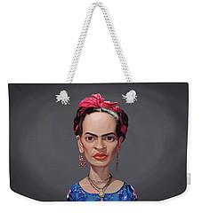 Celebrity Sunday - Frida Kahlo Weekender Tote Bag