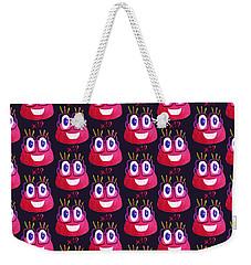 Cute Geek Mathematician Watercolor Candy Weekender Tote Bag