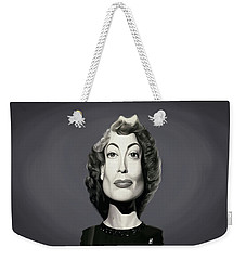 Celebrity Sunday - Joan Crawford Weekender Tote Bag