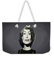 Celebrity Sunday - Joan Crawford Weekender Tote Bag