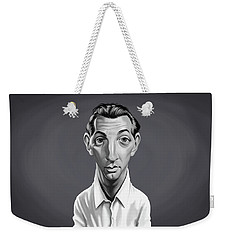 Celebrity Sunday - Robert Mitchum Weekender Tote Bag