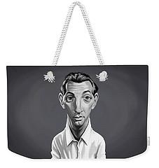 Celebrity Sunday - Robert Mitchum Weekender Tote Bag