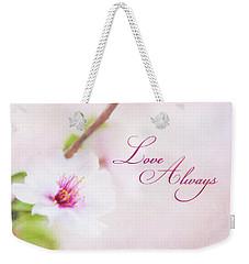 Love Always Weekender Tote Bag
