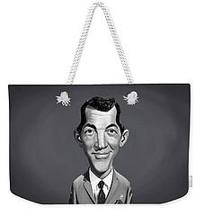 Celebrity Sunday - Dean Martin Weekender Tote Bag