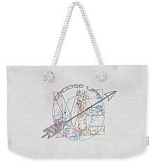 Choose Life Weekender Tote Bag