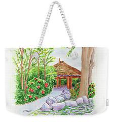 Pavilion Pathway Weekender Tote Bag