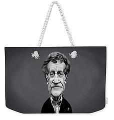 Celebrity Sunday - Kurt Vonnegut Weekender Tote Bag