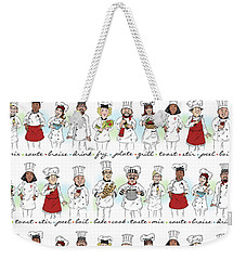 My Chefs In A Row-i Weekender Tote Bag